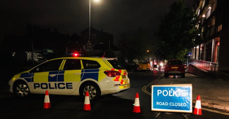 Road Closed at an incident