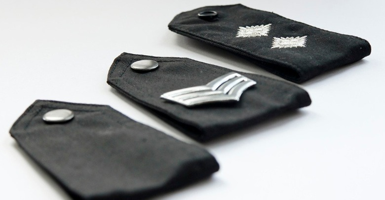 epaulettes from various ranks