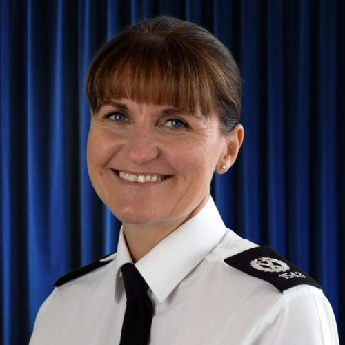 Picture of Assistant Chief Constable Sam De-Reya