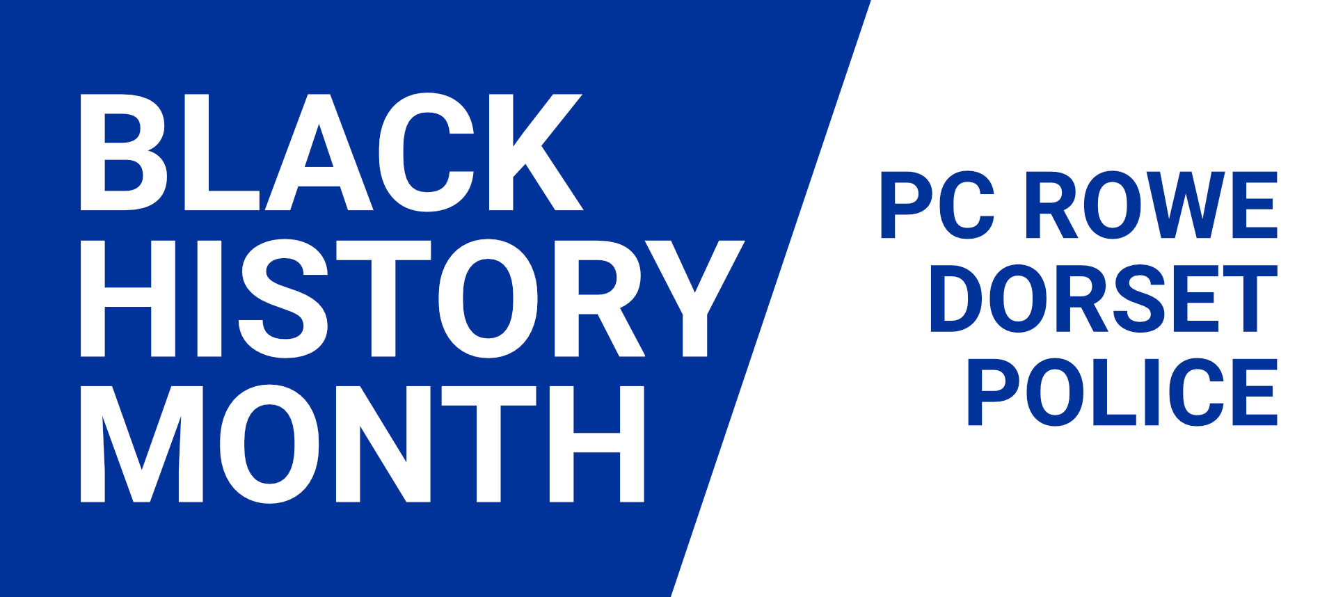 PC Rowe Black History Month