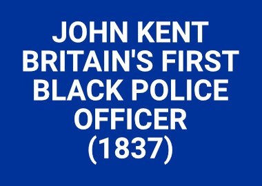 Britains First Black Police Officer