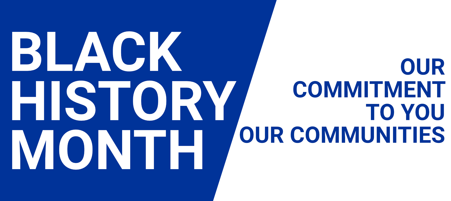 Our Commitment to you – our communities