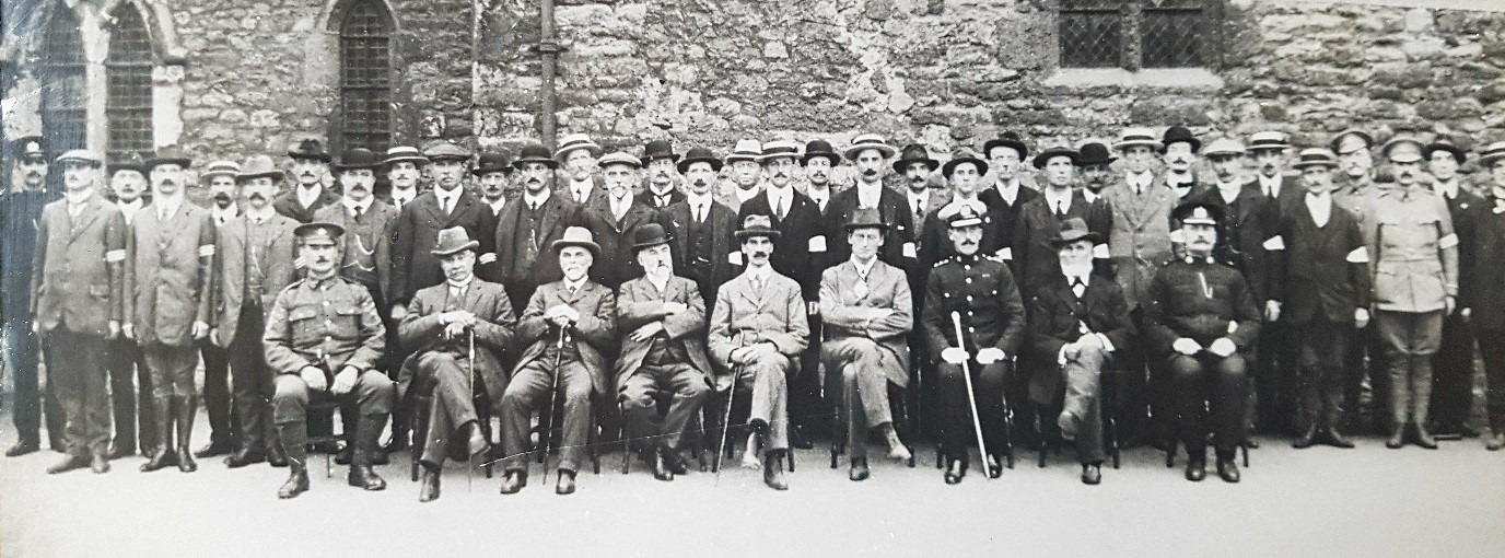 Exeter Special Constabulary, 1914
