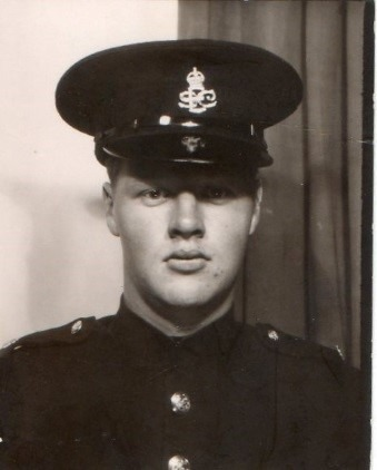 Special Constable Patrick Anderson joined Exeter Special Constabulary in 1960. The cap badge worn in Exeter bore the letters 'ESC.' (Image © Patrick Anderson)